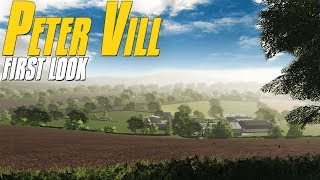 This British Map is Beautiful! Peter Vill First Look - Farming Simulator 19