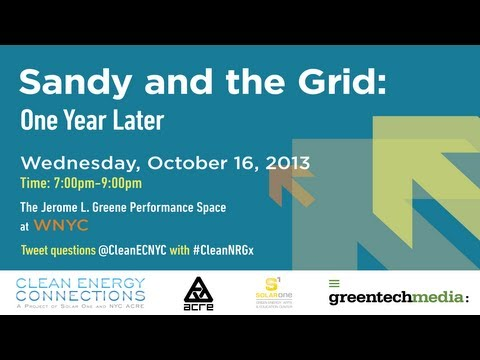 Sandy and the Grid: One Year Later