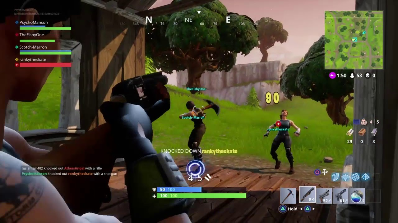 Fortnite Duo Gone Wrong With Thefishyone And Rankytheskate Ps