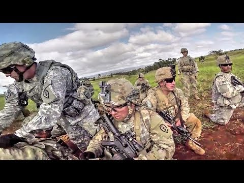Army Infantry – Combined Arms Live Fire Exercise