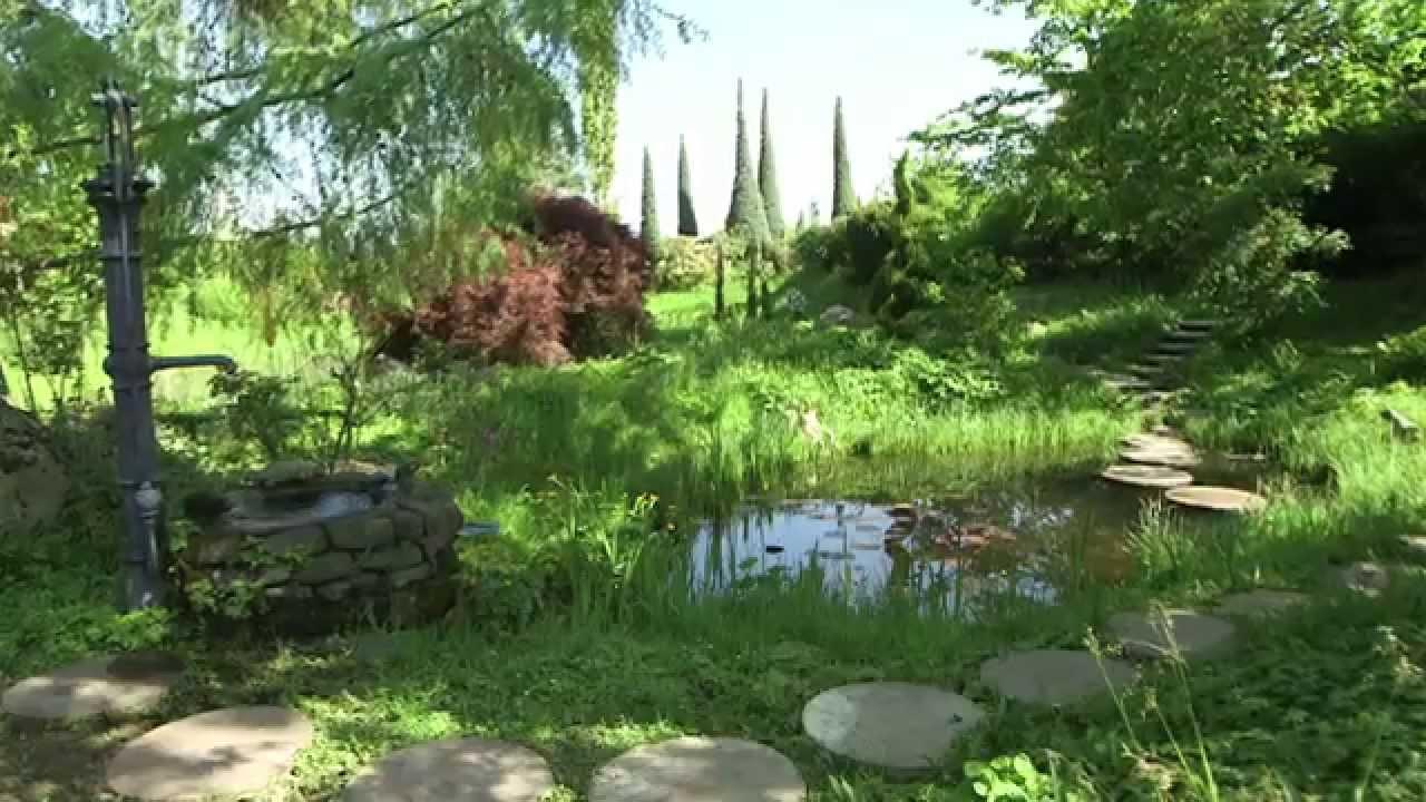 Gartengestaltung Naturgärten anlegen   YouTube