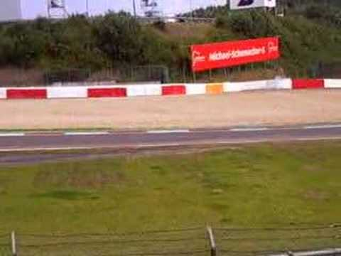 Nurburgring 2007 F1 GP winkelhock on P1 behind the safetycar