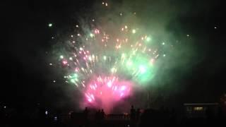 Maywood, NJ Fireworks Finale at Memorial Park 2013