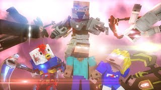 'THE END' - A Minecraft Original Music Video (Part 2 of 'Fight With Me' - April Fool)
