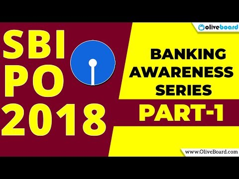 SBI PO 2018 Banking Awareness Preparation Series | Part - 1 | Economics