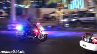 Las Vegas Police stopping vehicles
