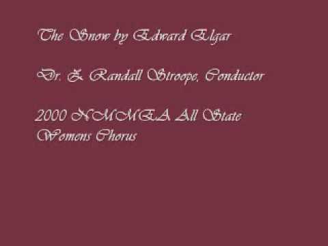 """The Snow"" by Edward Elgar-2000 NMMEA Womens Chorus"