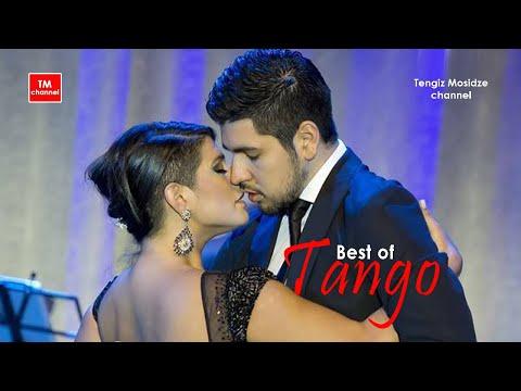 """Tango-Vals """"Flor de Lino"""". María Inés Bogado & Sebastián Jiménez with """"Solo Tango"""" orchestra. Танго"""