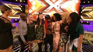 The Xtra Factor UK 2015 Live Shows Week 1 Eliminated Contestants Post Show Interview Full