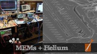 MEMs oscillator sensitivity to helium (helium kills iPhones)