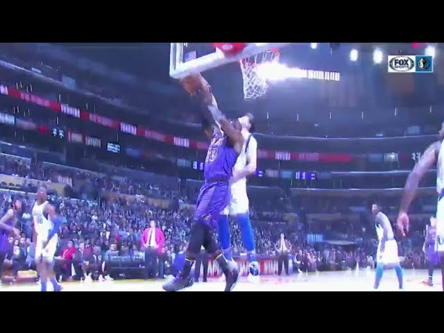 Luka Doncic BLOCKS LeBron James Twice In A Row! Mavs vs Lakers