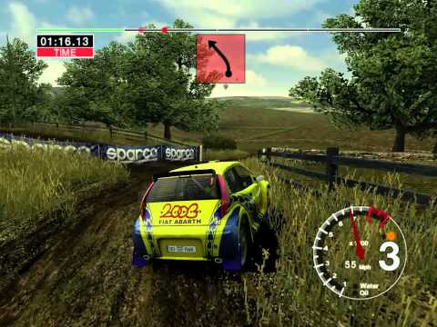 Colin Mcrae Rally 04: All Maps - United Kingdom (UK) Stage 2 [UK S2] (HD)