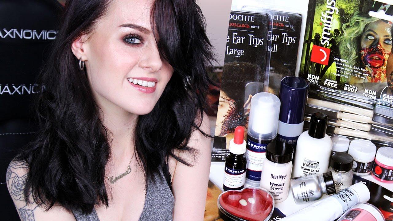 Halloween/SFX Makeup Haul + Giveaway - YouTube