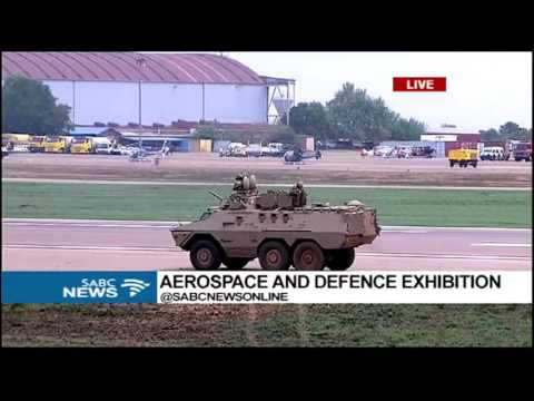 Final day of the AAD 2016 Expo in Waterkloof Airforce Base