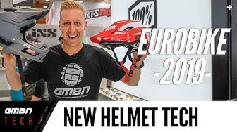 The Future Of MTB Tech? Lightweight Full Face Helmets & Carrying Solutions   Eurobike 2019 Part 3