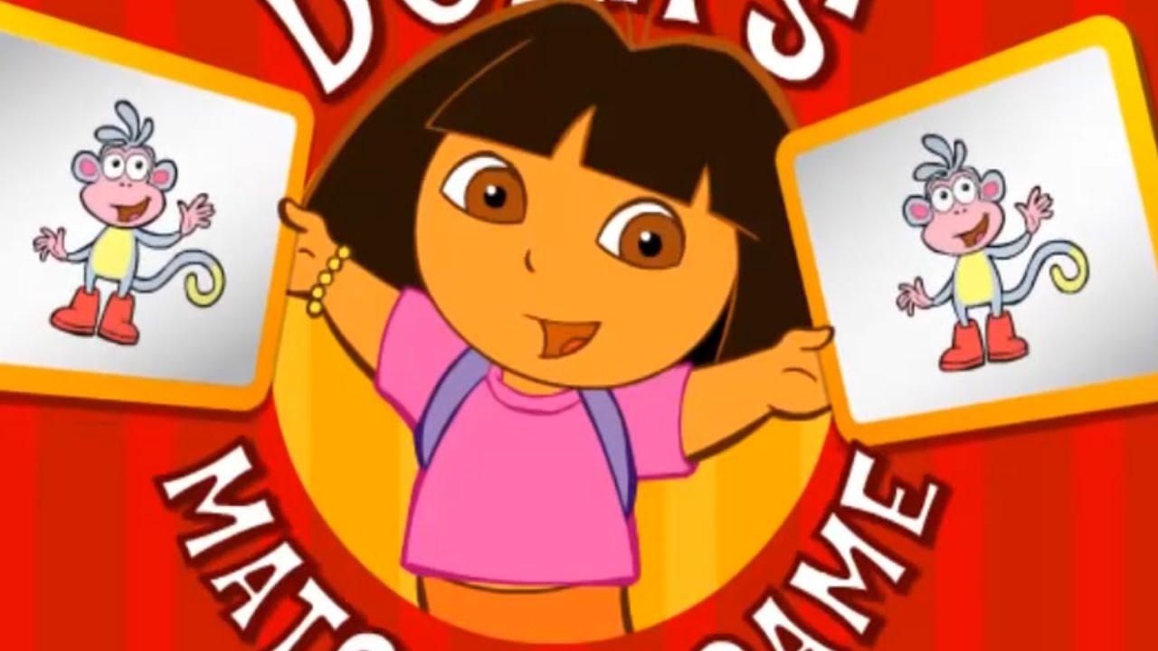 DORA THE EXPLORER – Dora's Matching Game | Dora Online Game HD (Game for Children)