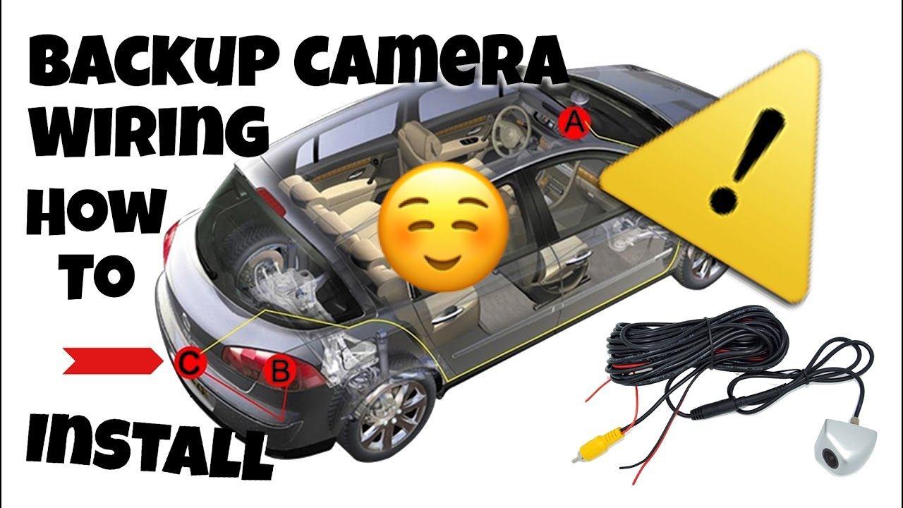 How To Wire Back Up Camera Toyota Camry Youtube 2010 Backup Wiring Diagram