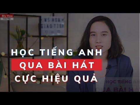 Học Tiếng Anh Qua Bài Hát Sao Cho Hiệu Quả? | Ms Hoa Giao Tiếp