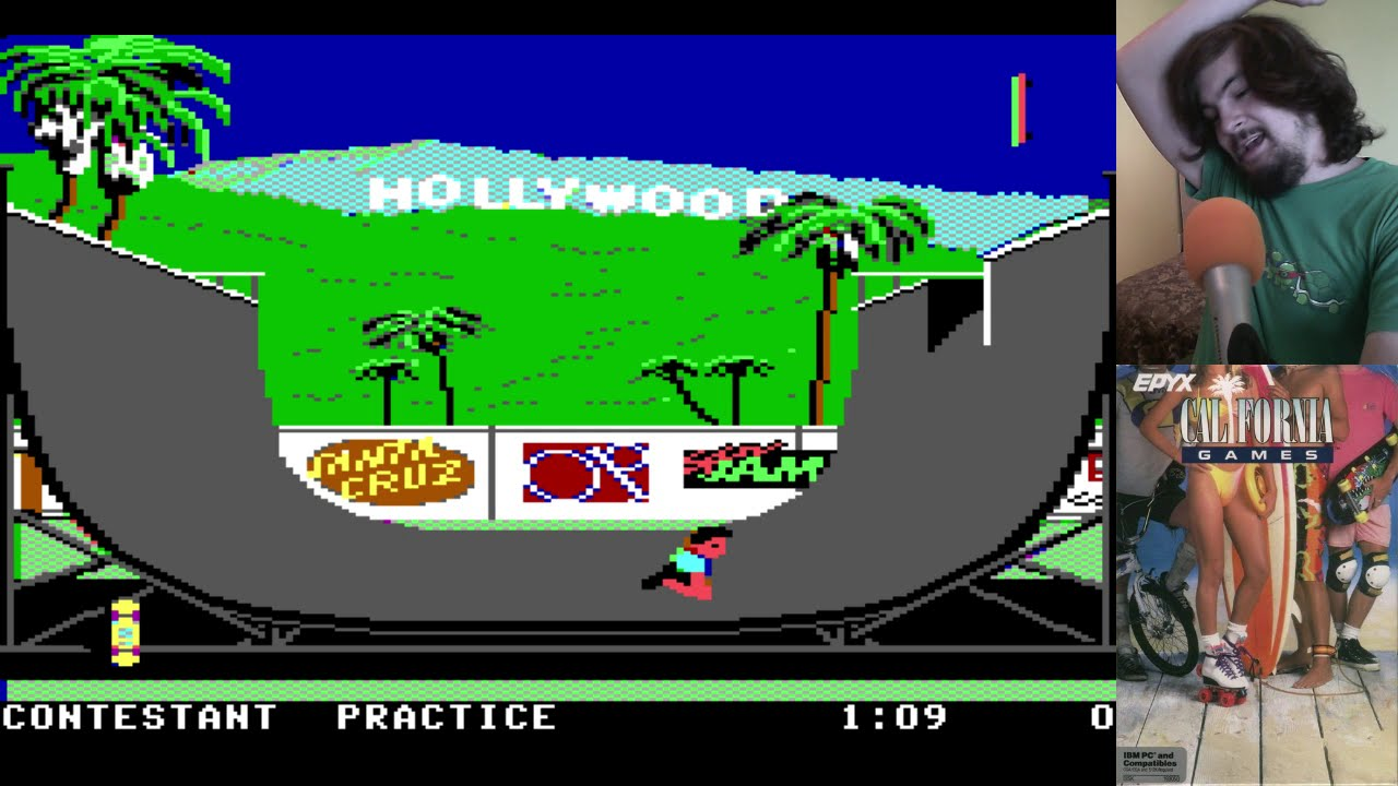 Old School: California Games (PC)