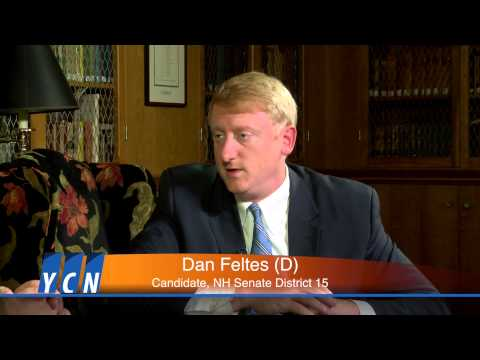 Capital Connections with Dan Feltes (D) Candidate for NH Senate District 15 (Part 1)