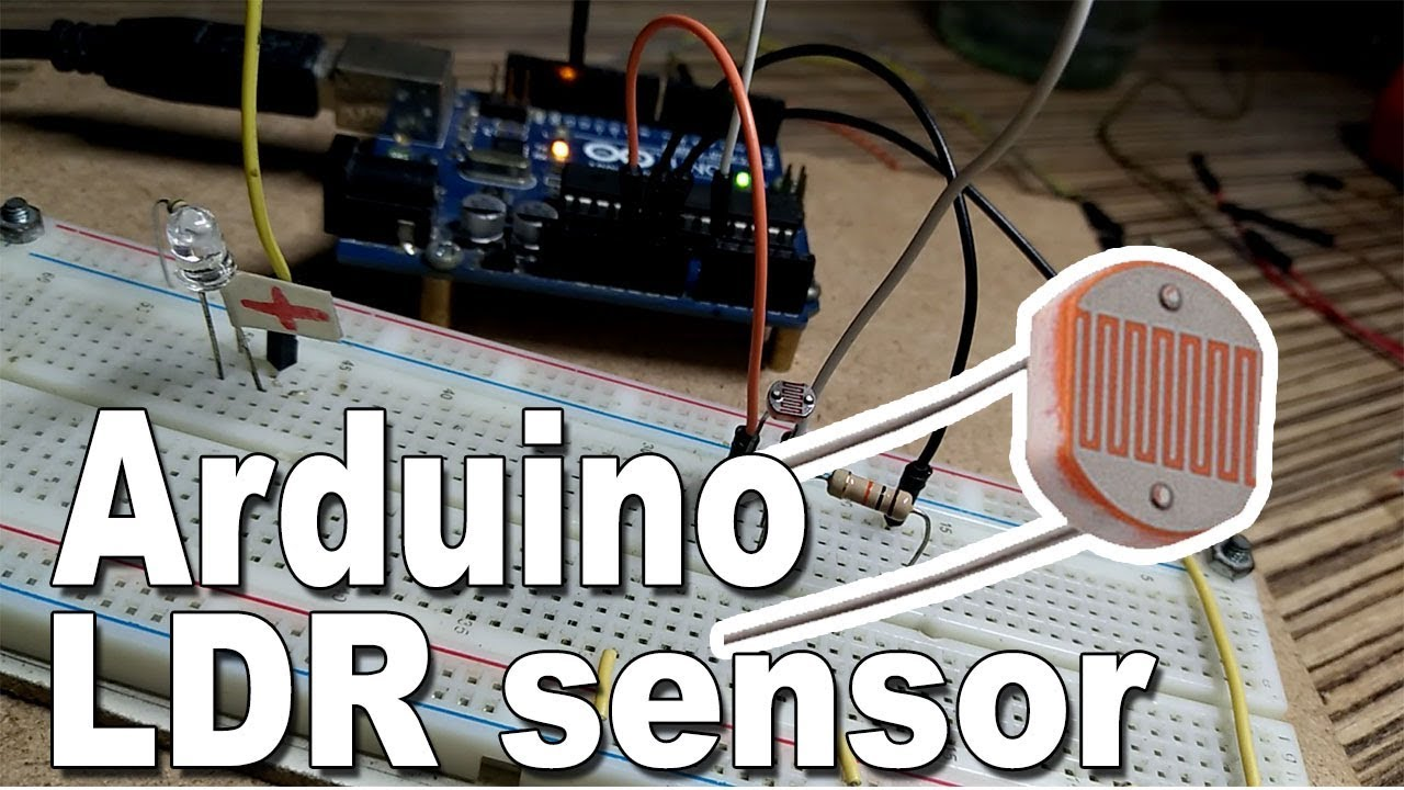 Arduino Ldr Sensor Led Tutorial Youtube An Experiment With And Build Circuit