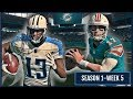 Madden 18 Franchise - @ Dolphins - CLUTCH PLAYS WIN GAMES! - [W5] [S1] | Ep.6