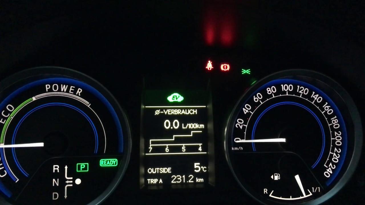 Toyota Auris HSD workaround for unknown beep sound