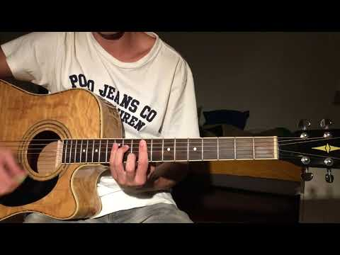 Hard to Love - Calvin Harris (Acoustic Guitar Cover)