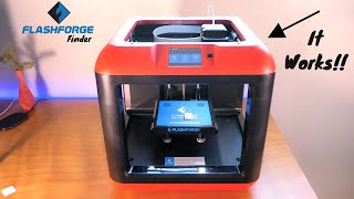 FlashForge Finder Works! - 3D Printer Fixed & Repaired
