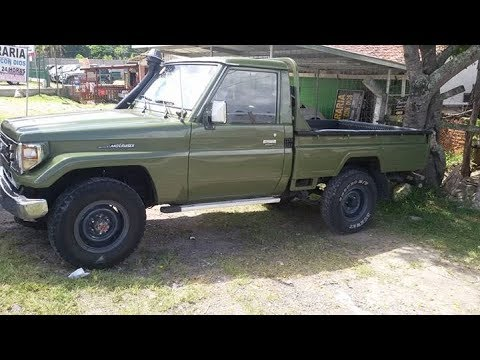Venta De Carros En El Salvador >> Toyota Land Cruiser Año 1994 4x4 en Venta - YouTube