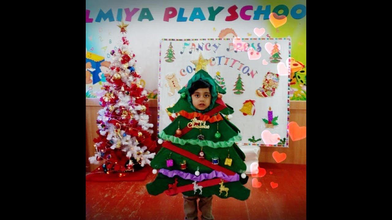 Christmas Tree Fancy Dress Costume Youtube