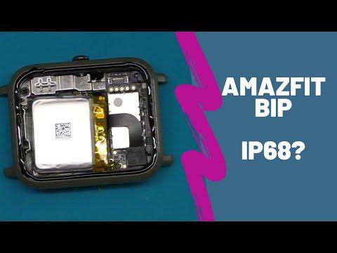 Amazfit Bip Ip68? Отклеился дисплей😱😱😱   China-Service