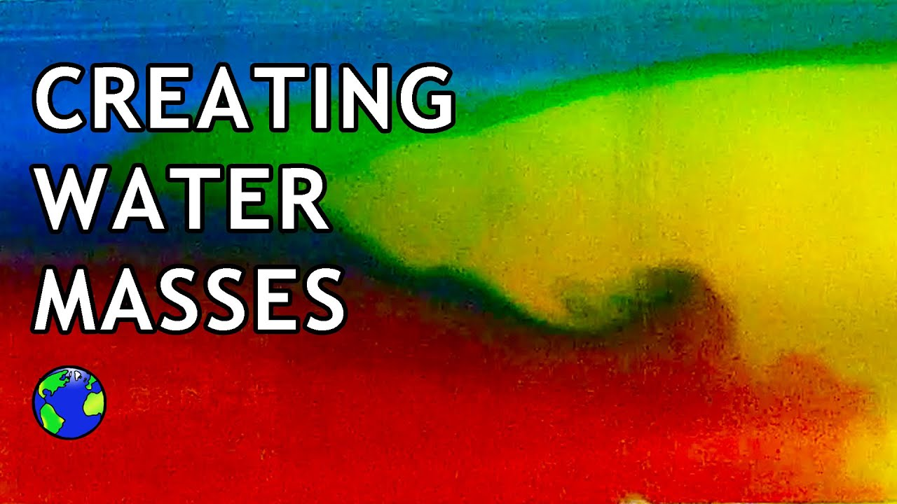 Creating Water Masses using Salt & Food Coloring - YouTube