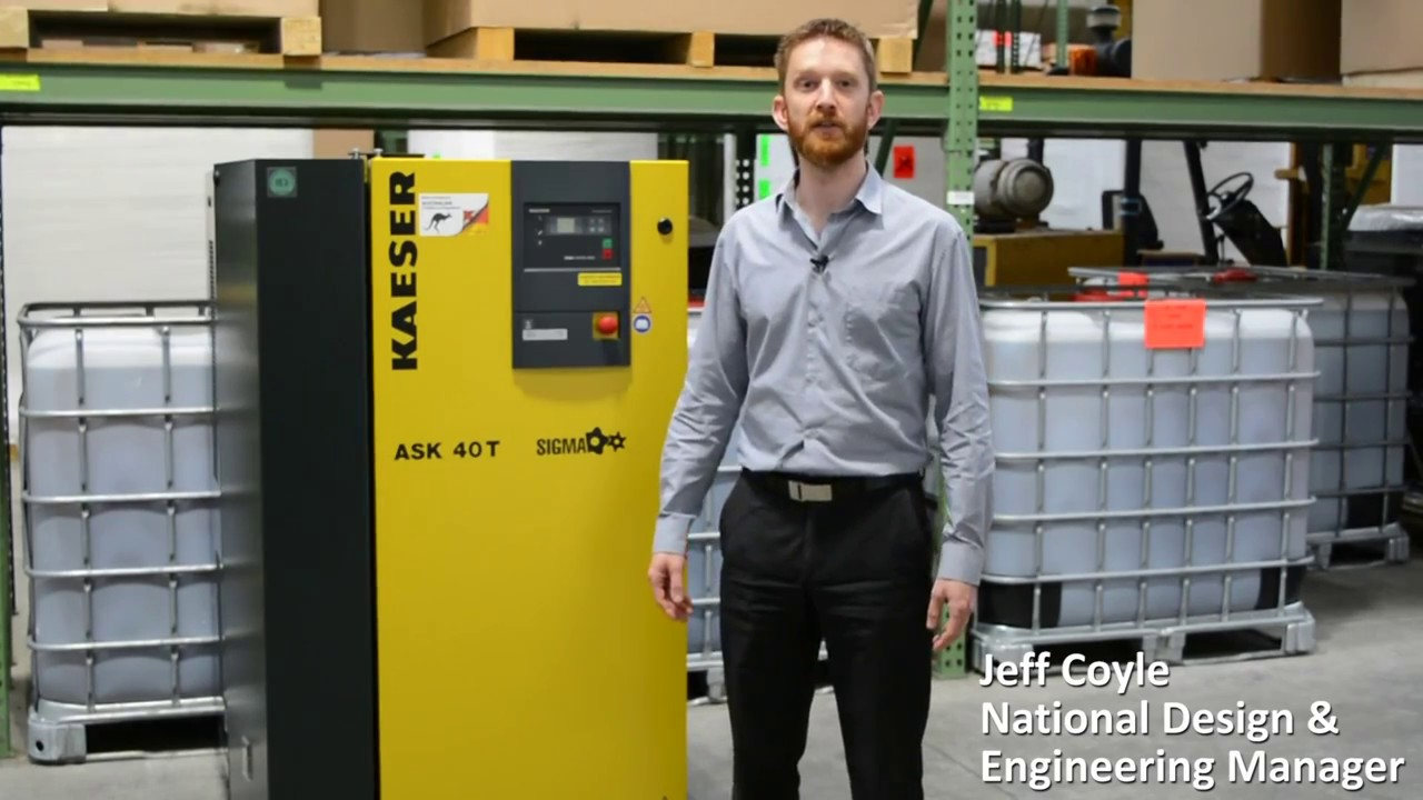 weekly air compressor preventive maintenance checks with kaeser [ 1280 x 720 Pixel ]