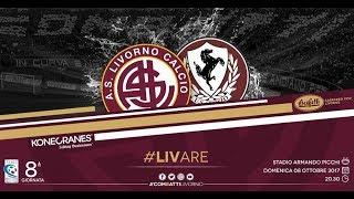 Livorno - Arezzo // 1-1 // Serie C 2017-18