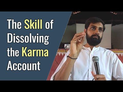 Karma Yoga — The Skill of Dissolving the Karma Account