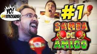 Dreamcast Quick Look: Samba De Amigo Part 1