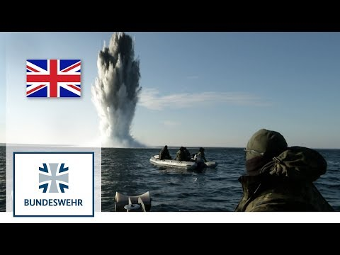 Mine Clearance Divers Demolish Naval Mines - Bundeswehr