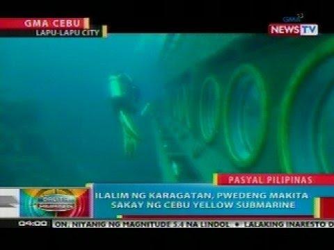 BP: Ilalim ng dagat sa Lapu-lapu City, Cebu, pwedeng i-explore sakay ng submarine
