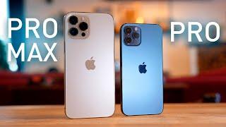 El GRAN DILEMA: ¿iPhone 12 Pro o Pro Max?