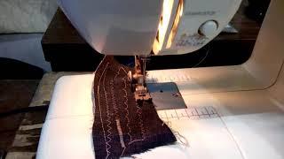 NORIO YAMAZAKI sewing machine demo