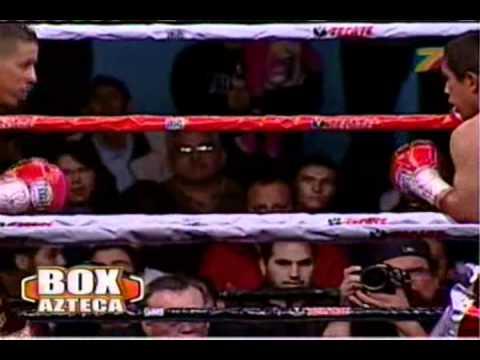 """Giovani """"Guerrero Azteca"""" Segura Vs Manuel """"El Chango"""" Vargas Round 8"""