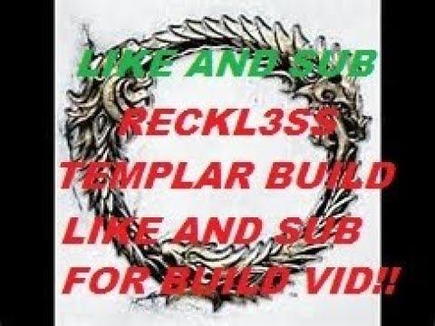 Reckless 🐉 Templar PVP Build RECKL3SS lizard 🦎 GOD TEMPLAR