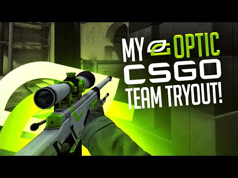 My OpTic CS:GO Team Tryout Video!