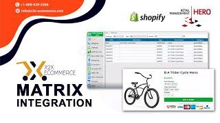 x2x RMH Shopify Integrator - Integrating Matrix