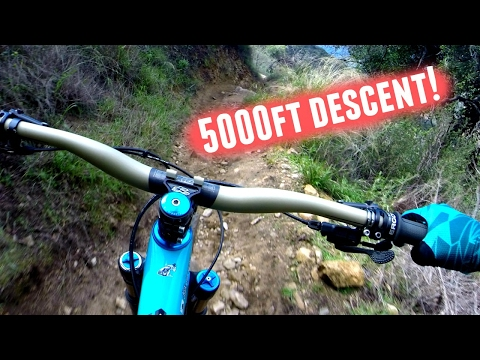 5000ft MTB Descent!! *Mt. Wilson - Los Angeles* (Trail Guide)