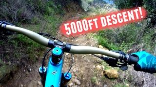 5000ft MTB Descent!! *Mt. Wilson - Los Angeles* (Trail Guide) thumbnail