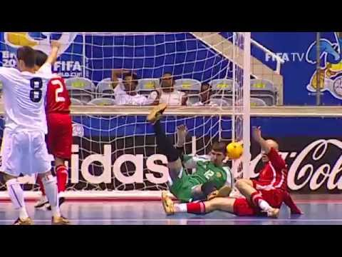 Highlights: Russia v. Italy - FIFA Futsal World Cup Brazil 2008