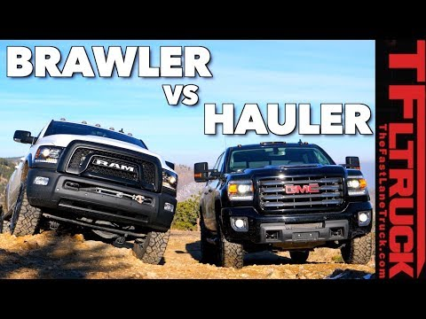 Heavy Weight Off-Road Smack Down: GMC Sierra HD vs Ram Power Wagon