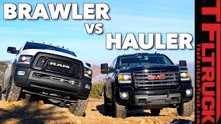 Heavy Weight Off-Road Smack Down: GMC Sierra HD vs Ram Power Wagon